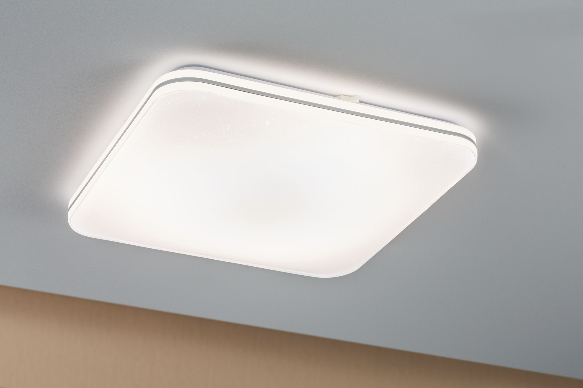 Paulmann WallCeiling Costella LED 22W 430x430mm Weiß 230V Acryl/Metall 70903