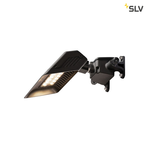 SLV TODAY LED Outdoor Displayleuchte, schwarz, kurz, 4000K, IP65 1000883